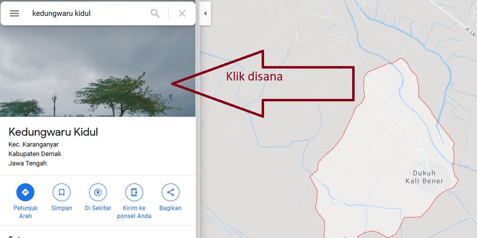 Heboh Penampakan Pocong di Google Maps